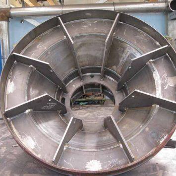 Cassa per Turbina Kaplan